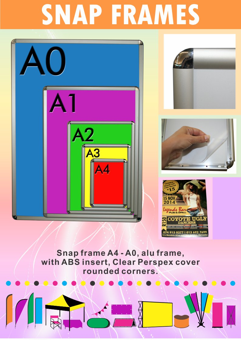 Snap Frames and Posters - TAG Expose Yourself