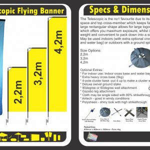 Telescopic Banners Boksburg